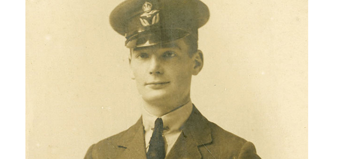 Captain John Todd (By kind permission of Montrose Air Station Heritage Centre)