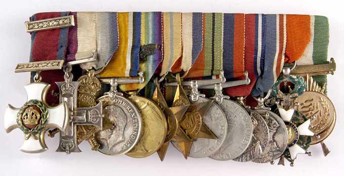 James McCudden's medals