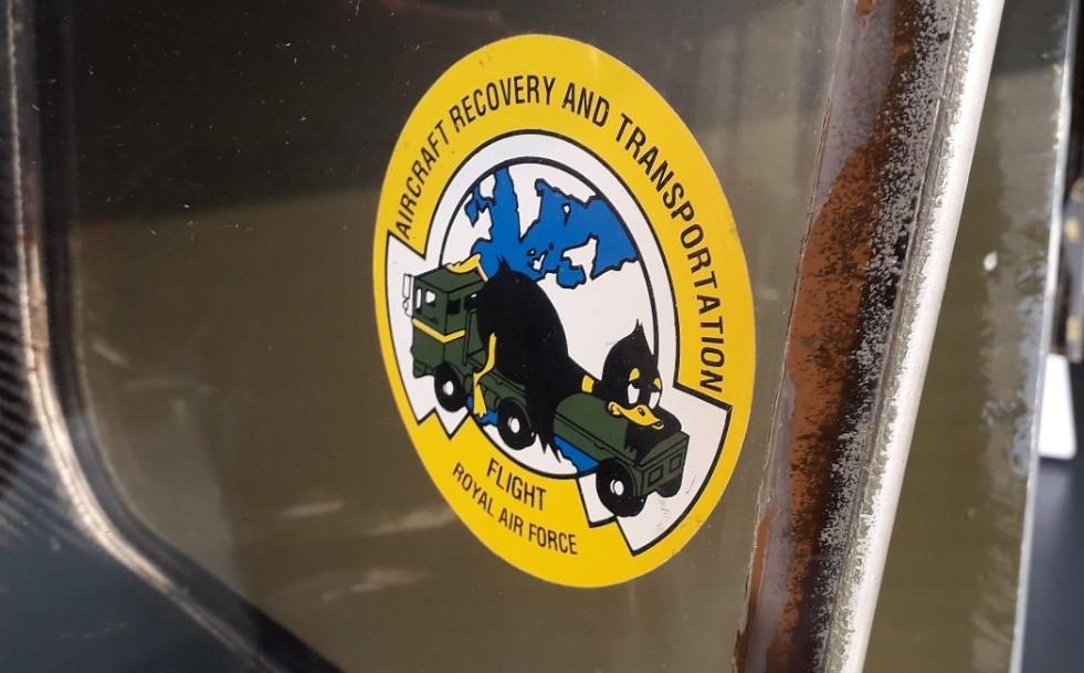 Aircraft Recovery Flight sticker