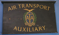 Air Transport Auxiliary office board
