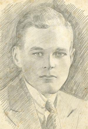 A sketch of Arthur Elliott