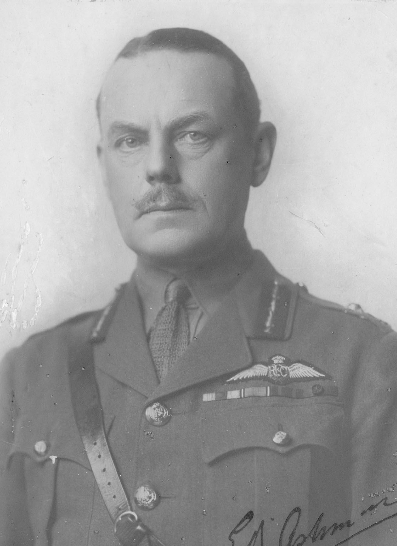 X006-8292 Portrait of Major General E. B. Ashmore.