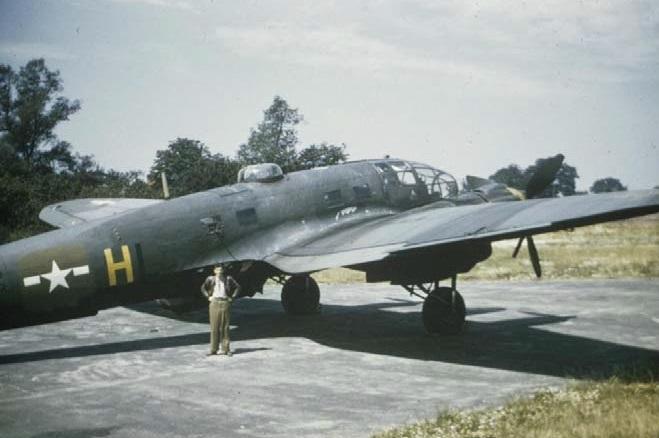Heinkel He 111 in USAAF colours