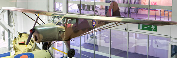 The nimble Auster airborne observation aircraft