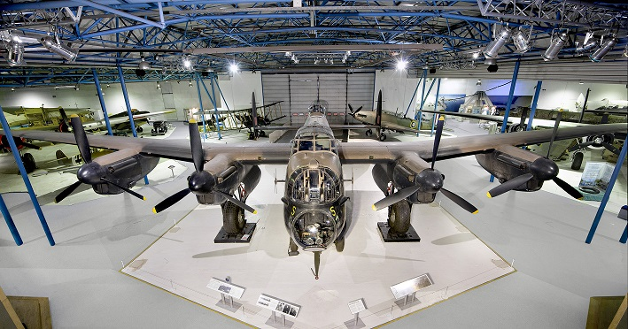 Lancaster at the RAF Museum London