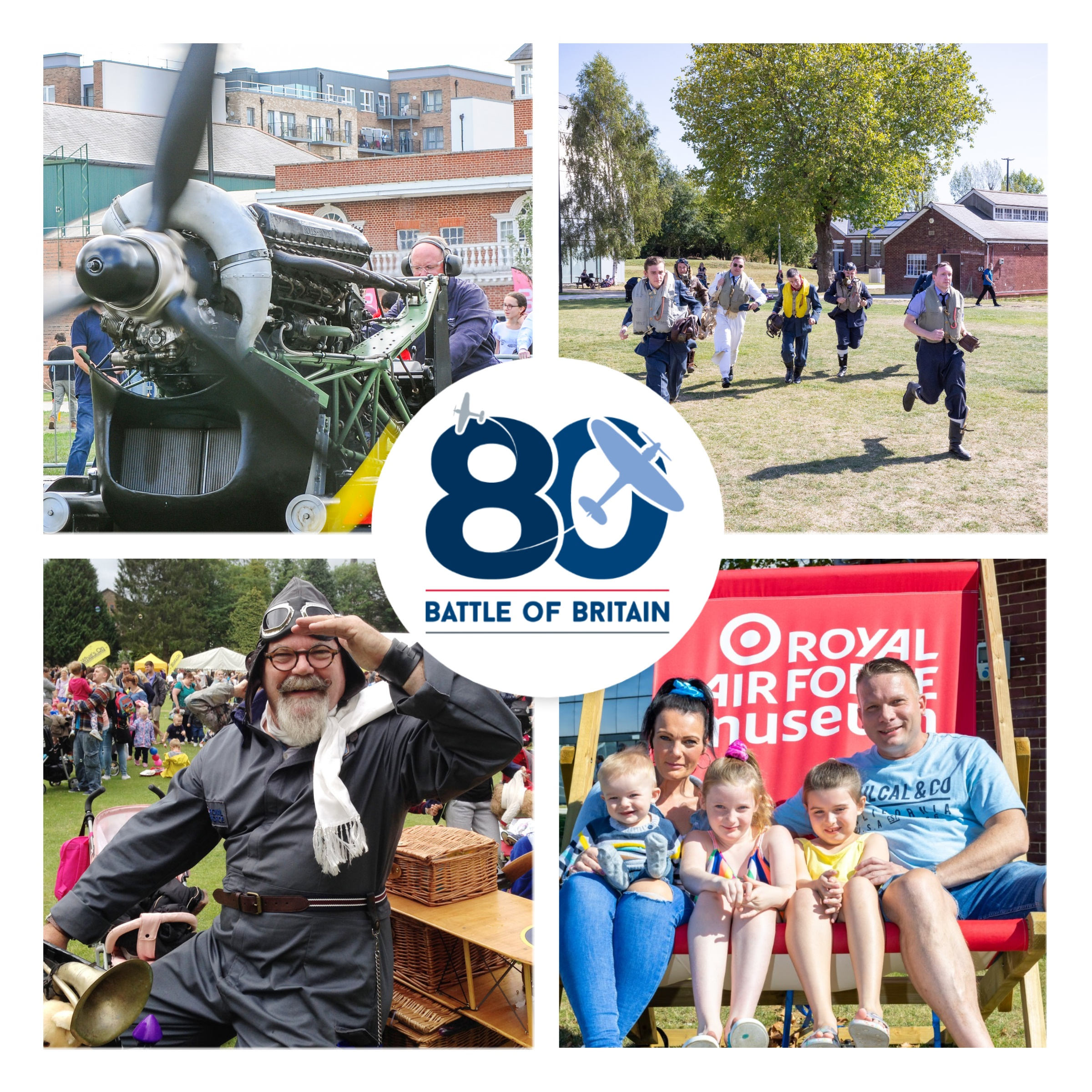 Images of activities taking place at our Battle of Britain Weekend