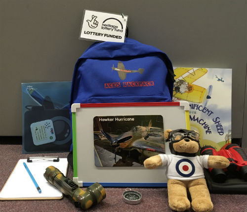 A photograph of our Aces STEM Backpack