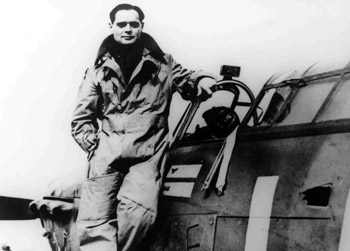 Douglas Bader - Commanding Officer of No. 242 Squadron