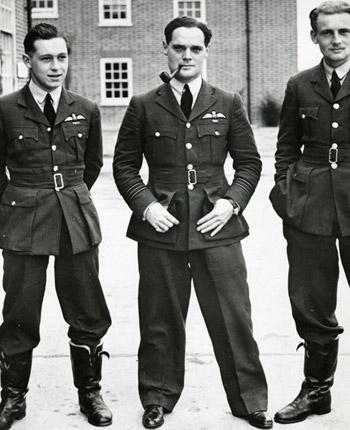 Fighter pilots of No. 242 (Canadian) Squadron RAF, including Douglas Bader