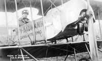 Edouard Baumann, famous pilot at Hendon air shows and respected flying instructor