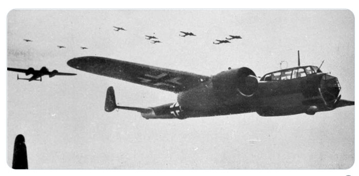 Dornier Do17s in Flight over London