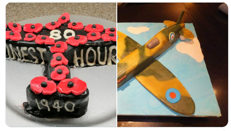 Pictures of some of the Battle of Britain Bakes sent in to us.