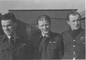 Ladislav BOBEK (left), with five verified shoot downs, one probable and three damaged enemy planes, was the second most successful Czechoslovak night fighter who served with the 68 Night Fighter Squadron