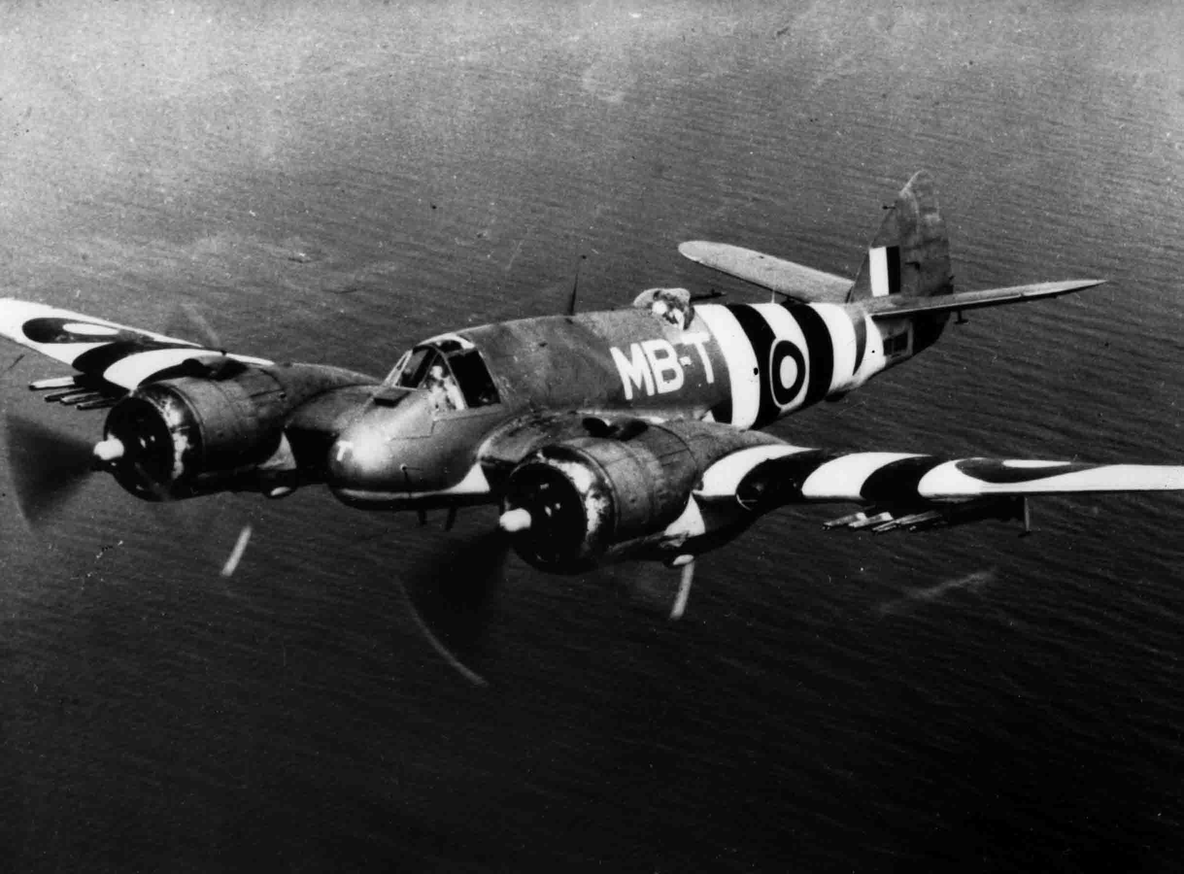 Bristol Beaufighter in invasion colours