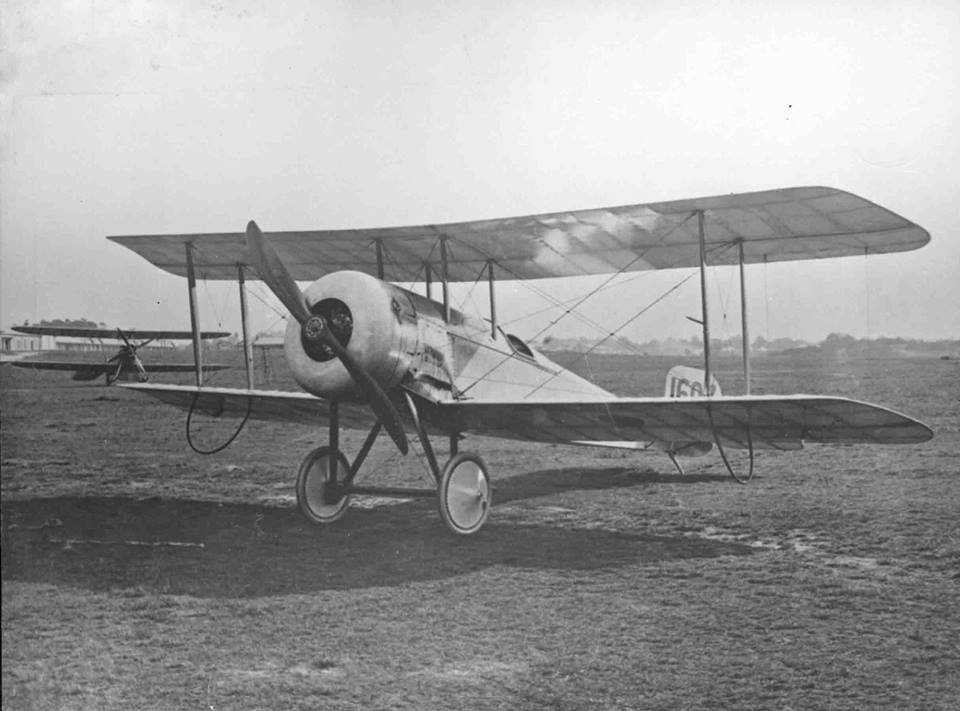 Bristol Scout 'C', the same type Lanoe Hawker flew in 1915