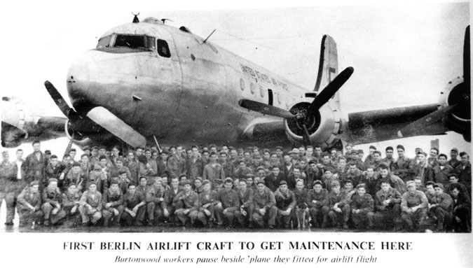 A C-54 Skymaster