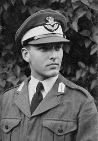 An officer cadet in uniform, 1960