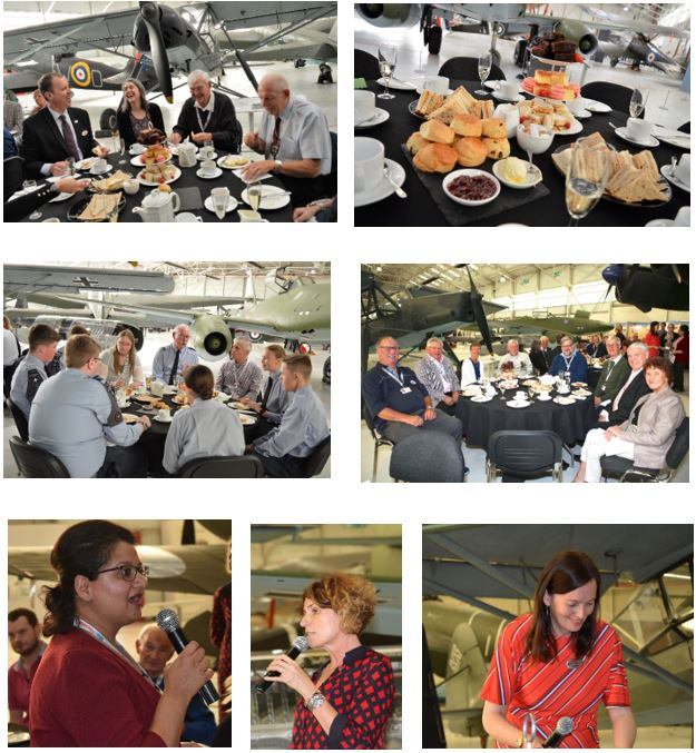 Images of the Thank You Event at RAF Museum Cosford