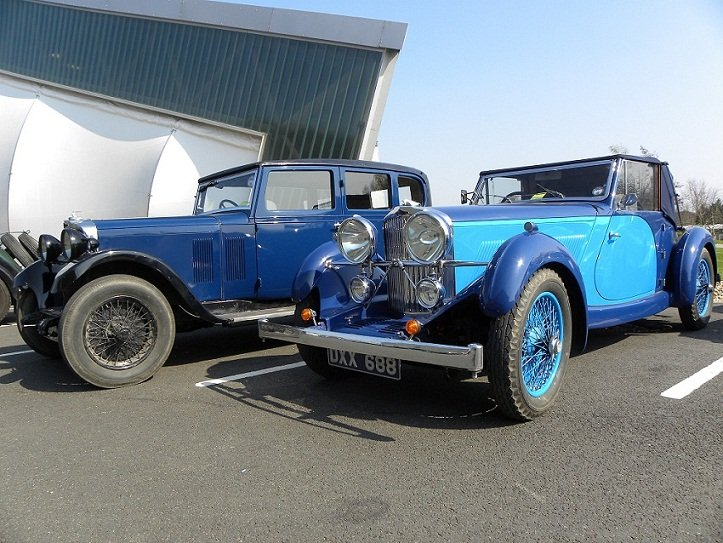 A car rally at our Cosford site