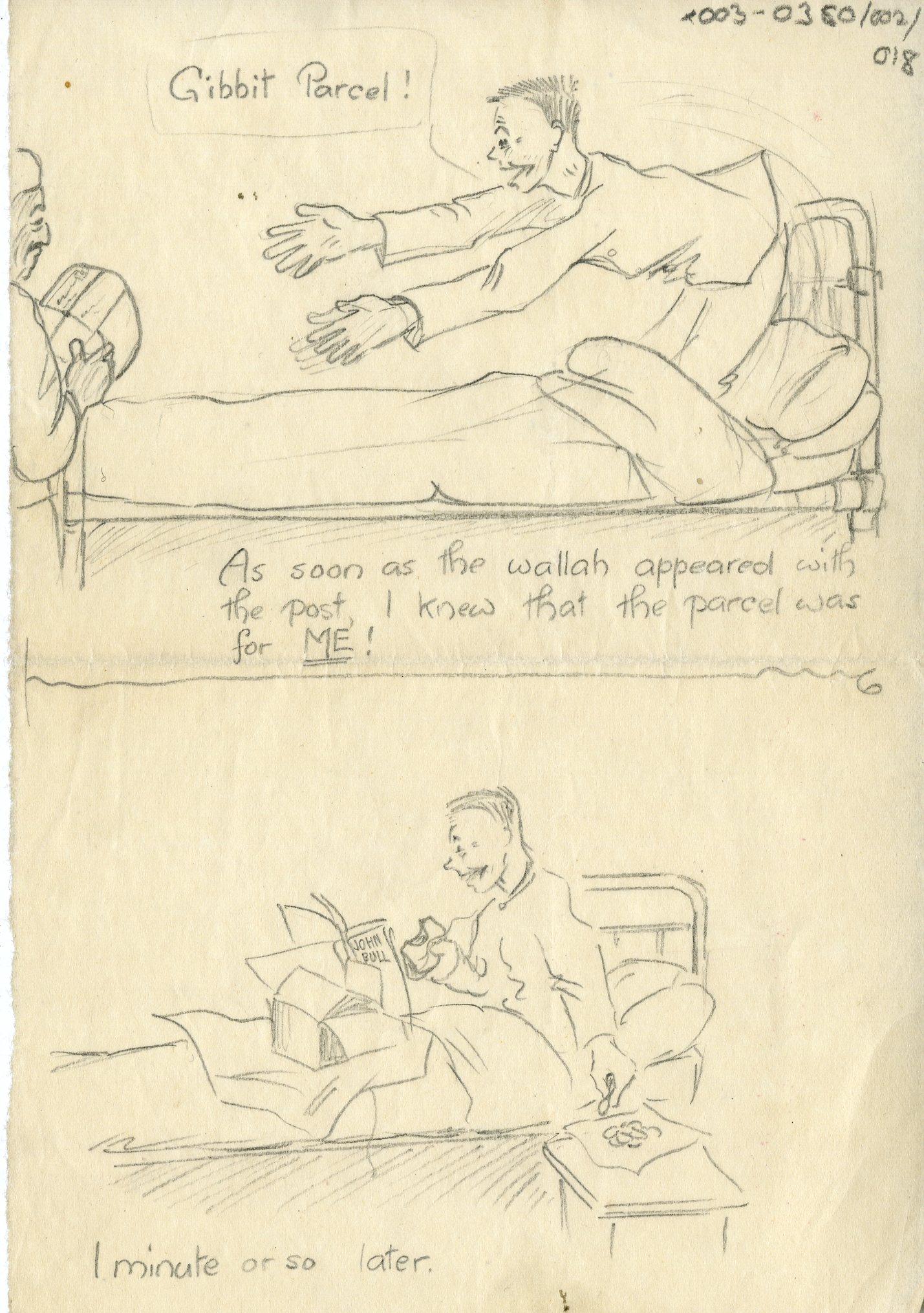 Image: X003-0380/002/018 - Cartoons by A Mech 3 John Roscoe. RAF Museum