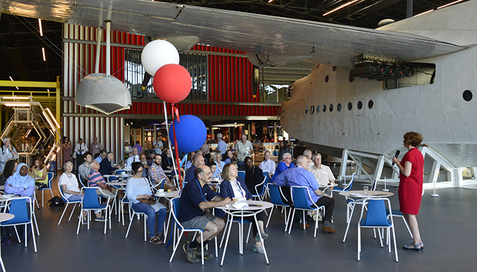 Press and Community Opening day at the RAF Museum London