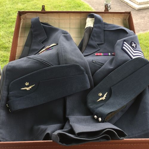 An example of uniforms from our Handling Collection