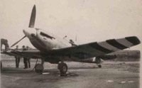 No. 64 Squadron Supermarine Spitfire on the eve of D-Day, June 1944