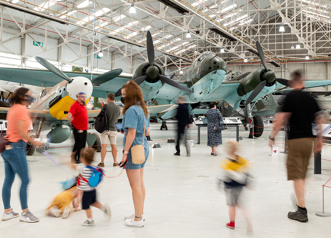 New Battle of Britain displays at Cosford