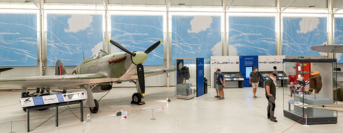 Our new Battle of Britain display at Cosford