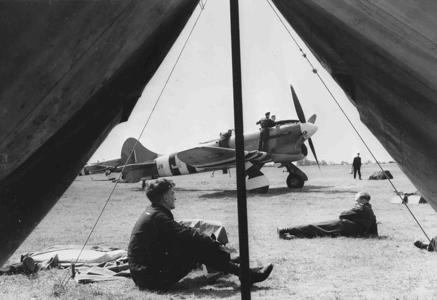 The Allied Airfield at Asnelles