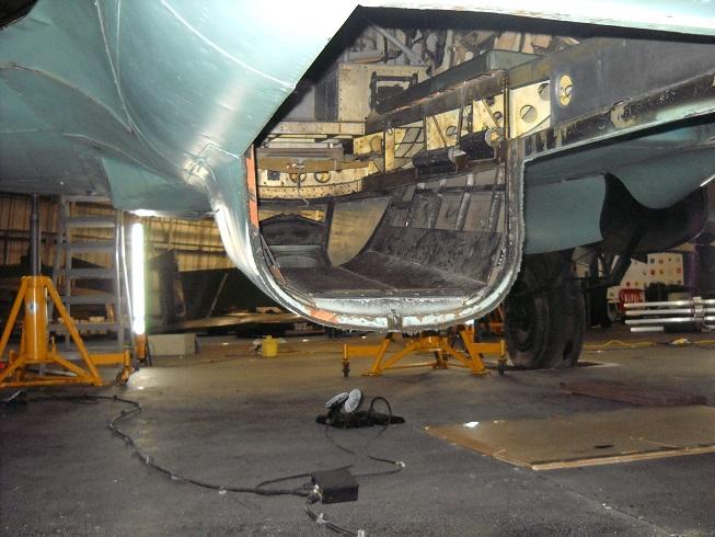 inside the He 111