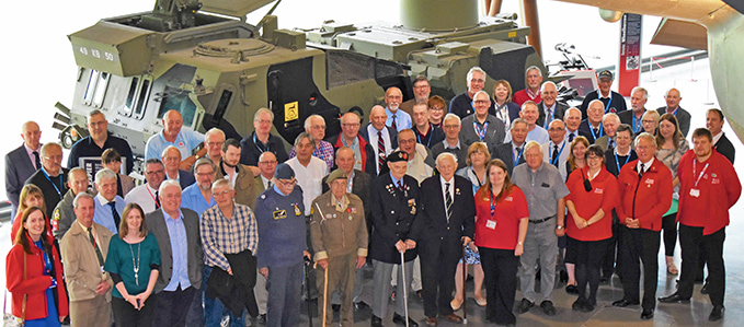 The Volunteer Team at the RAF Museum Cosford