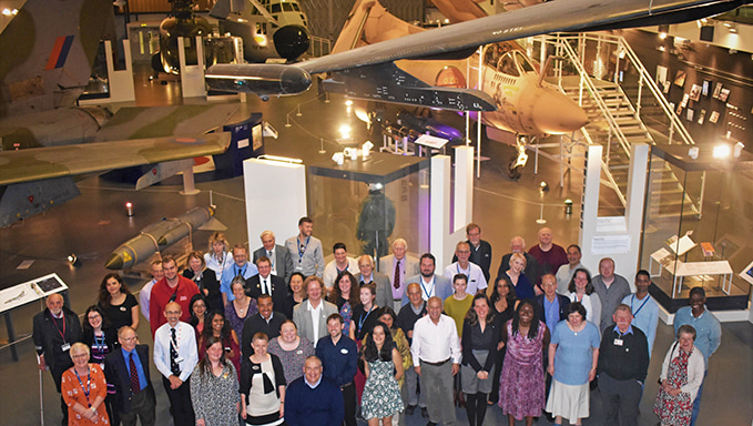 The Thank You event at our London site for our London volunteers