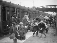 Evacuation by rail
