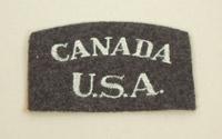 Eagle Squadron USA/Canada shoulder flash