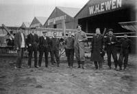 Flying schools at Hendon