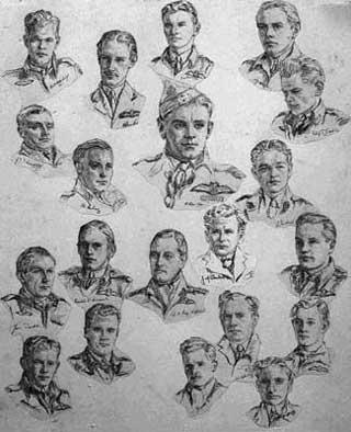 Pilots of No.611 Squadron