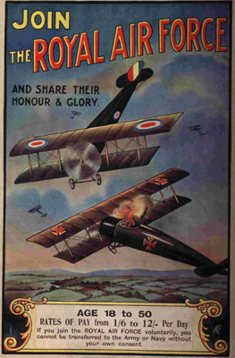 RAF Join us poster