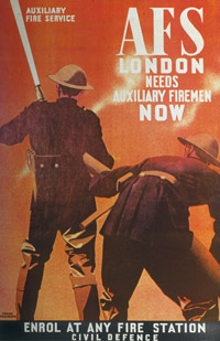 Auxiliary Fire Service poster