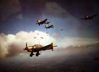 A formation of Ju87s