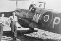 Supermarine Spitfire Mk. Vb of No. 121 (Eagle) Squadron , RAF Rochford, September 1942