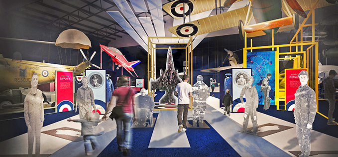 The First 100 Years of the RAF exhibition opening this summer in RAF Museum London