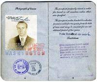 Passport of William Fiske