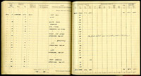 Plt Off Fiske's log book, 14 – 26 July 1940