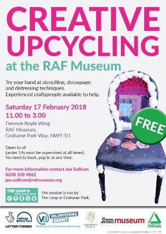 Creative Upcycling at the RAF Museum
