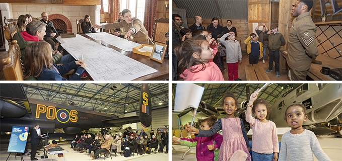The RAF Foundation Day Celebration at the RAF Museum London