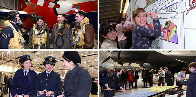 The RAF Foundation Day celebrations at the RAF Museum Cosfort