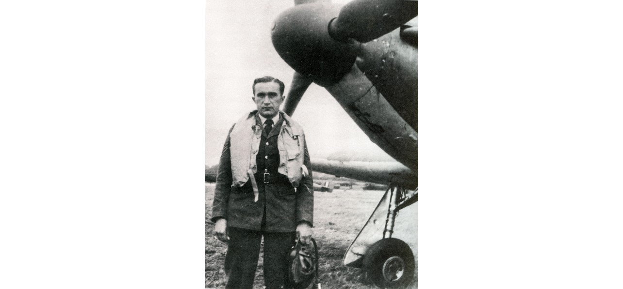 Three quarter-length portrait of Sergeant Josef Frantisek
