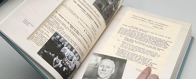 General Smuts'memorandum at the RAF Commemorative Anthology