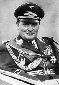 Commander in Chief of the Luftwaffe - Hermann Göering